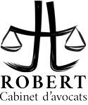 Logo noir cabinet Robert avocats Roanne